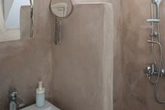 The bathroom on ground floor